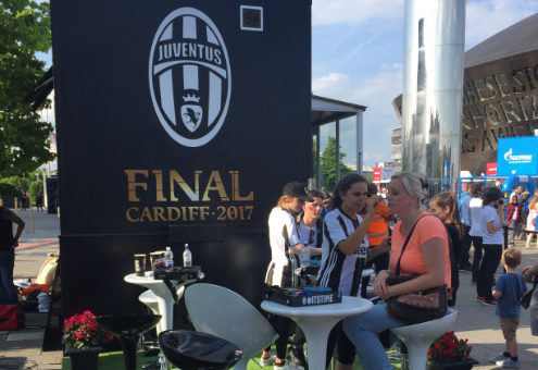 Juventus Face Painting
